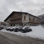  hotel in sneeuwlandschap