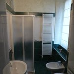  Adequately spacious bathroom with shower but no bath