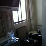Room view (from the corridor) inside the room