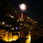  New Year&#39;s Eve from best spot in Amalfi