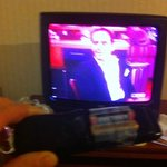  Remote held together with scotch tape and the tv only displays red and blue.