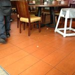 food on floor