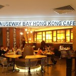 Causeway Bay Hong Kong Cafe