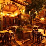 Patio in beautiful Arab style