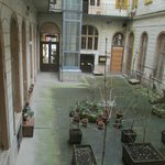  View toward Boulevard and inside courtyard from room