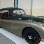 Jaguar XK from the 1950s in outstanding condition