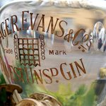 Antique Gin Jar in Breakfast Room Window