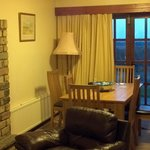  The dining room and view from our cottage.