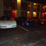  Corvettes out front