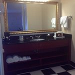  vanity area. very clean and beautiful!