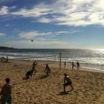  Volley ball on Manly Beach