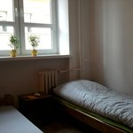 Twin room , single use. Brand new / 1st floor of the hostel