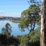 Tamar River view from property