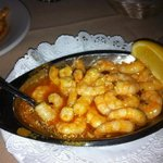 shrimp & garlic