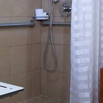 Roll-in shower