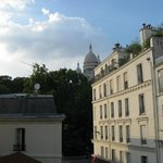 Vista do Hostel - Sacre Coeur