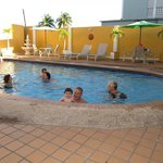  Hotel pool...great for the kids or relaxing after the beach!