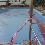 March2013. pool in disrepair and has been & still is like this. now all tiles are removed &dirt