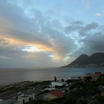 Sunrise over Simons Town
