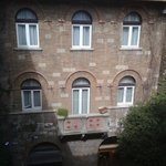 Vista del cortile interno dalla ns camera