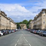 Great Pulteney Street looking towards Holborne museum