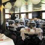 Seating up to 150 for weddings and events.  We are the local party professionals!