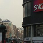  Montparnasse Gare Station &amp; Hotel location.