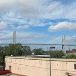  View right outside the door, facing the street.