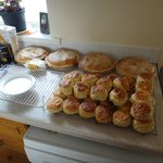 Homemade scones and pies