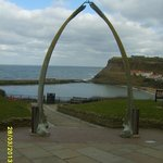 Whale jaw bones Whitby