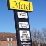 City Motel Sign