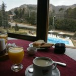  desayuno con hermosa vista
