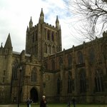 Hereford Cathedral. The tower tour takes you to the highest point