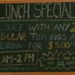 $5.00 Lunch Special