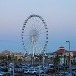 View of the Pensacola 360 from bayside rooms