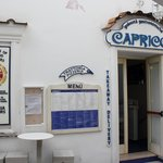 Exterior of the top entrance of Capricci