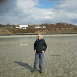 morar hotel, silver sands(and liz !)