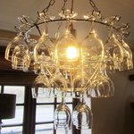 An unusual chandelier!
