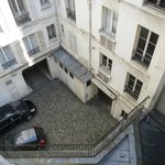  View from rear twin bedroom room.  Gave the true flavor of Paris.