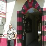 The main entrance to Casablanca Hotel