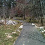  walking/biking trail