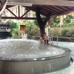 one of the outdoor hotspring pool