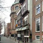  Outside view of Singel Hotel, late March