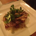 Rib eye steak with chunky chips