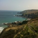 coast path looking Northish towards Zennor / St. Ives.