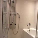  vip suite: fanciful shower sprays and bath tub