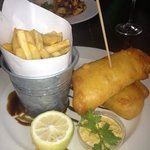 Hake and chips!