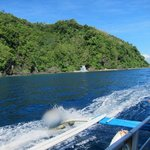 The island of Limasawa, underwater sanctuary station