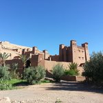  Kasbah Tebi is the 4 towered building on the right