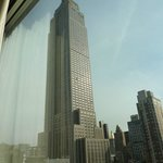  View of the Empire State Building from my room